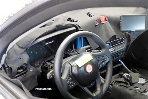 bmw g20 interior spied g20 bmw 3 series seen again with interior image 725570