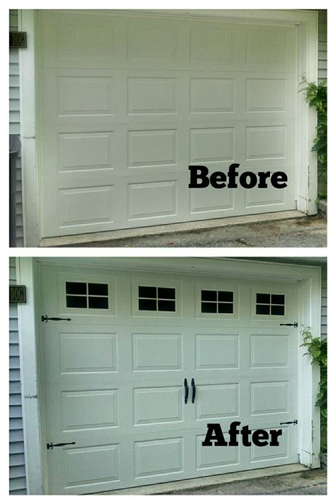 Garage Door Faux Window Faux Garage Door Windows Custom Carriage House Window