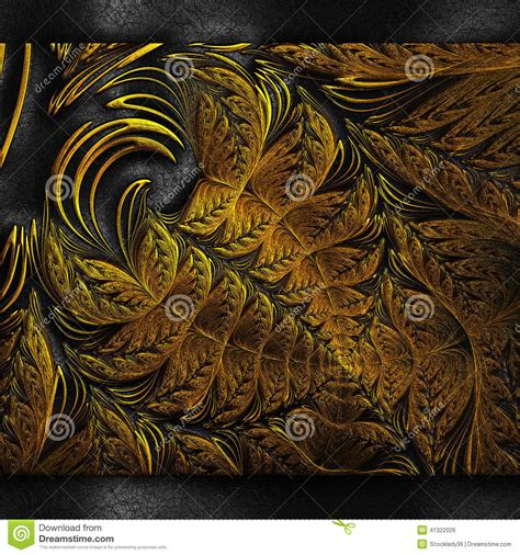 drawing pattern on leather luxury background with embossed pattern on leather stock