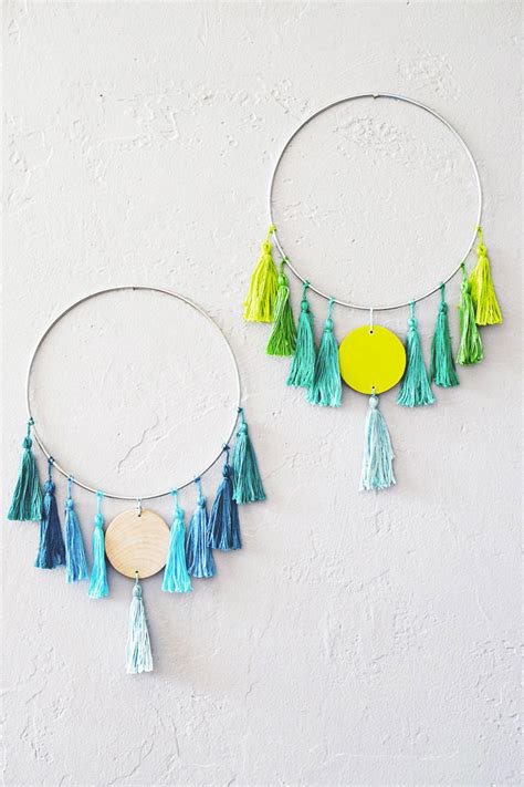 wall hanging craft for 10 easy and cool diy boho chic wall ideas shelterness