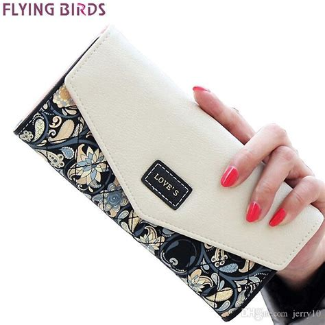 Flying Bird Black Bag flying birds wallet for wallets brands purse dollar