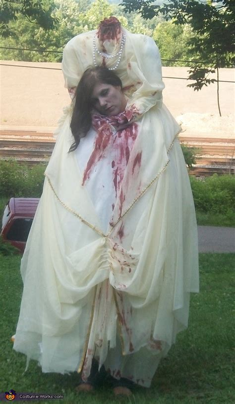 headless woman costume
