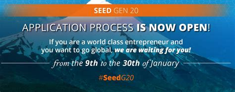 Usd Mba Application Deadline by Start Up Chile Seed Program Generation 20 For Startups