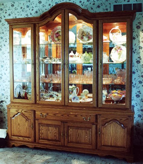 glass mirrored china cabinet curved top china hutch 171 ebben custom cabinets furniture