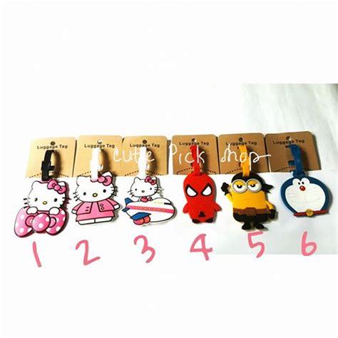 Name Tag Id Koper Model Kartun jual luggage tag name tag gantungan label nama untuk tas koper bagasi shop