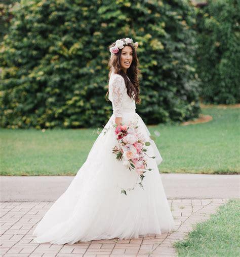 Outdoor Wedding Dresses For Flower by 10 Noivas De Cabelo Solto Casamenteiras