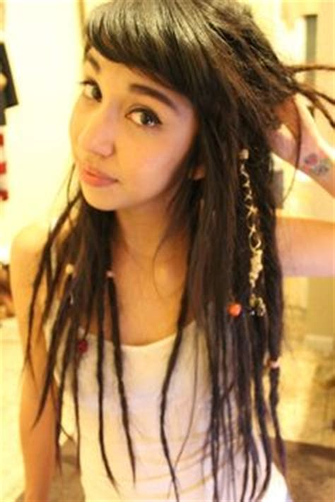 why bangs are ugly half dreads hair pinterest half dreads and dreads