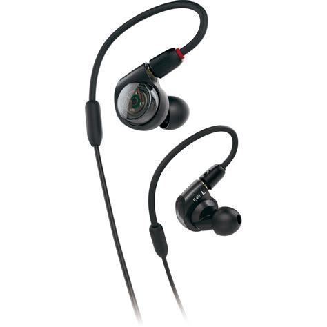 Audio Technica Ath Im01 In Ear Monitor Headpholnes Black audio technica ath e40 e series professional in ear ath e40 b h