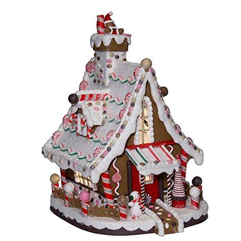 lighted gingerbread house sale kurt adler j3628 kurt adler 12 inch lighted christmas