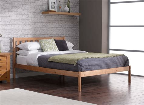 sandhurst bed frame pine wooden dreams