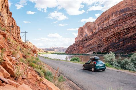 On Scenic Drive 6 scenic drives in moab that don t require four wheel