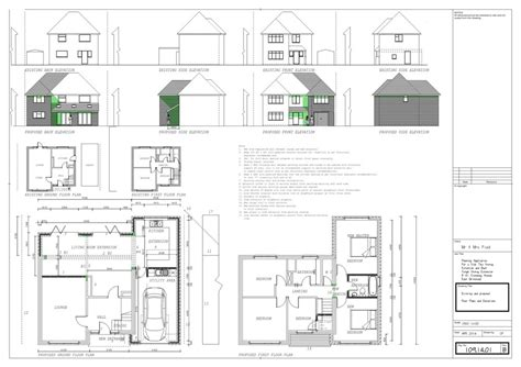 Two Story Bungalow House Plans spirit level architectural and project management services