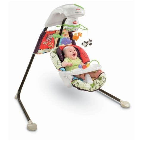 fisher price baby swings that plug in luv u zoo cradle swing from fisher price with a plug in