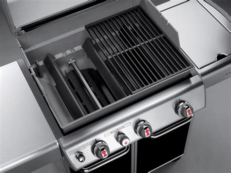 weber genesis e 330 6532001 weber genesis e 330 grill sear station side burner copper propane