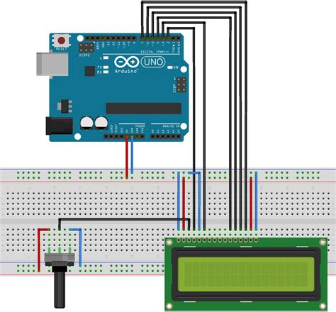 Lcd Arduino 2x16 elektronick 225 hrac 237 kostka s arduinem