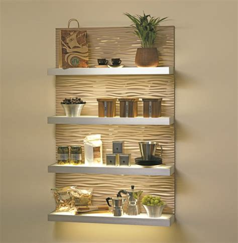 impeccable shelves lighting designs that you to see