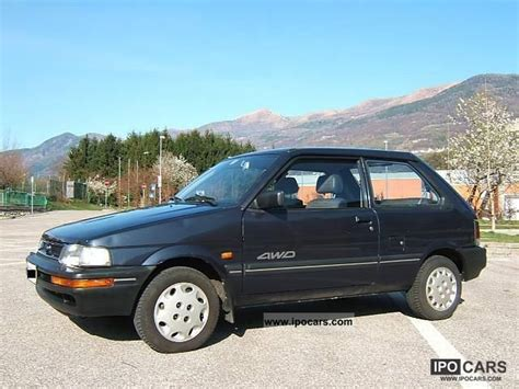 old car manuals online 1992 subaru justy parental service manual small engine maintenance and repair 1989 subaru justy electronic toll collection