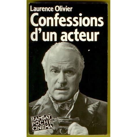 olivier books laurence olivier confessions d un acteur book cin 233 ma