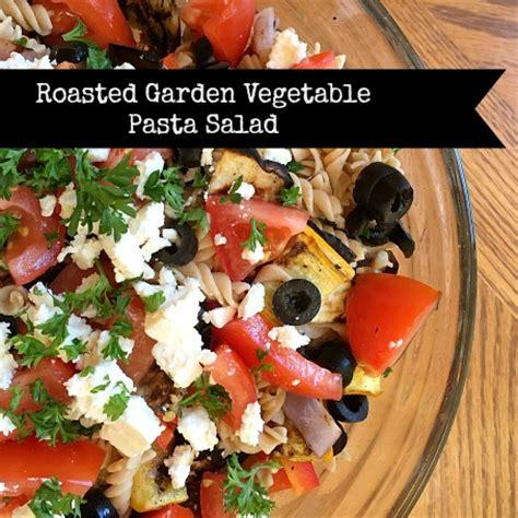garden vegetable pasta salad recipe roasted garden vegetable pasta salad bits of bee