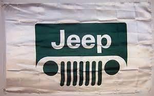 3 x5 jeep flag auto automotive car banner