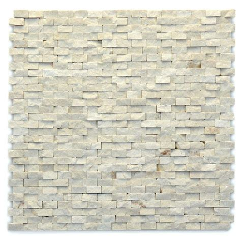 Mosaic Wall Tiles Solistone Modern Opera 12 In X 12 In X 9 5 Mm Marble