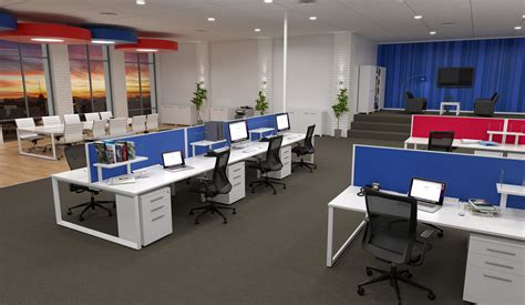 open about open plan office furniture design