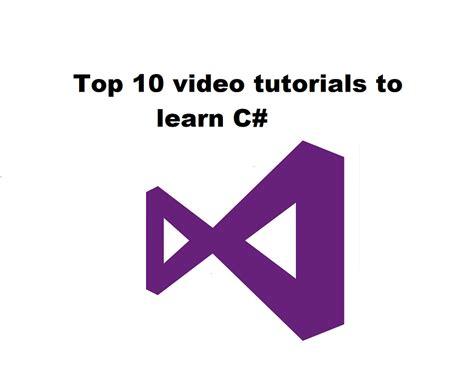 best c tutorial top 10 tutorials to learn c best c sharp