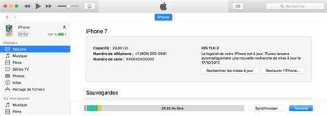synchronisation des donn 233 es de votre iphone et ipod touch avec itunes sur votre ordinateur