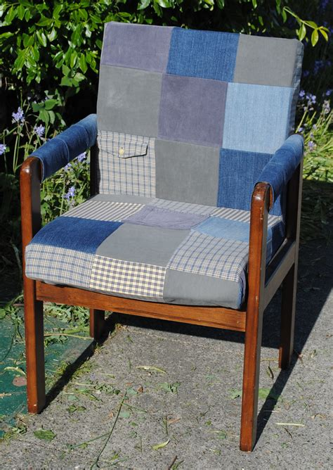 Patchwork Covered Chairs - patchwork chairs and stools to make