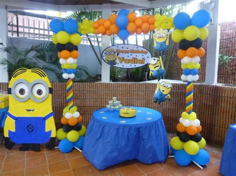 Despicable Me Decorations by Despicable Me Birthday Ideas Birthdays Birthday