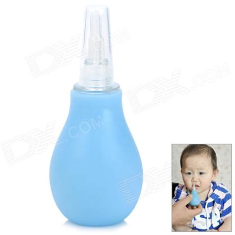Cute Style Baby Silicone   PVC Nose Cleaner   Blue   Free