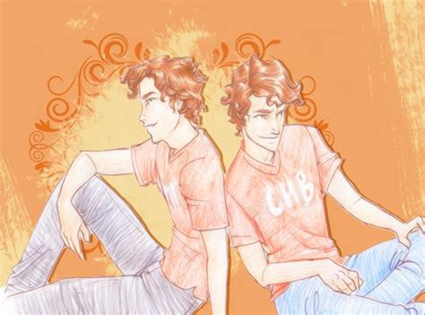 the stoll brothers percy jackson