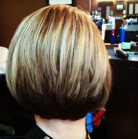 how to cut stack bob with side swept bangs 12 stacked bob haircuts short hairstyle trends bobs