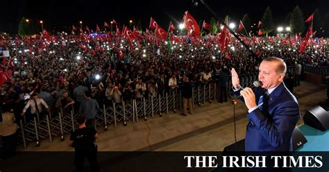 irish times jobs section failed turkish coup provides erdogan with a pedestal
