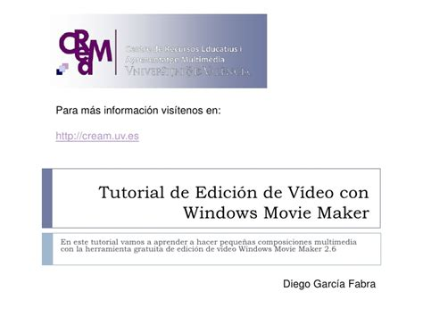 tutorial de windows movie maker tutorial de edici 243 n de v 237 deo con windows movie maker parte 3