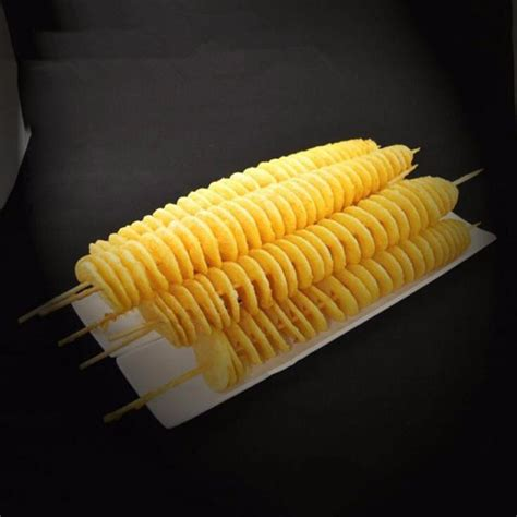 Spiral Potato Slicer Alat Pengiris Kentang alat pemotong kentang spiral membuat potongan kentang