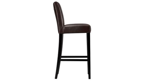 Lowes Bar Stools 24 by Lowe Chocolate Leather Counter Stool Crate And Barrel