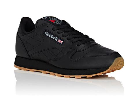 Reebok Brings Back More Than It Should by Reebok Classic Leather Black Gum Sneakernews