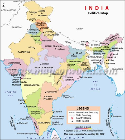 india political map images political map of india pdf