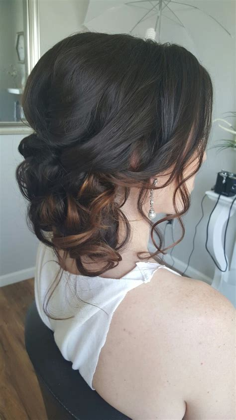 Bridal Hairstyles Side Swept Updo by Best 25 Side Swept Updo Ideas On Side Swept