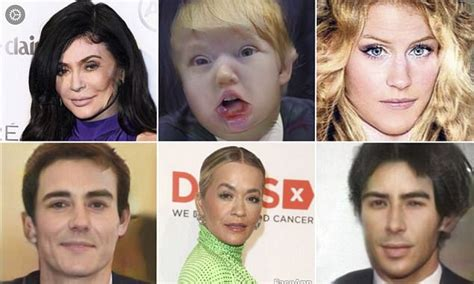 see what you would look like with different color hair faceapp reveals what famous faces could look like daily