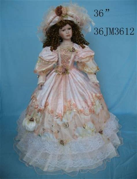 porcelain doll clothes dolls style and umbrellas on