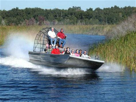 fan boat ride florida florida everglades airboat ride