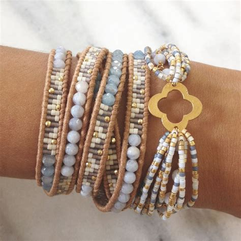 beaded wrap bracelet diy best 25 chan luu ideas on wrap bracelets
