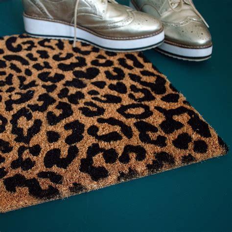 Leopard Doormat leopard print doormat audenza