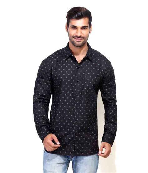 bee black 100 percent cotton prints casual