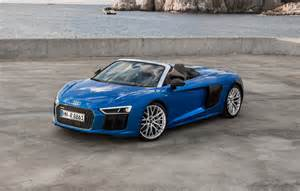Audi Spider 2017 Audi R8 Spyder Review