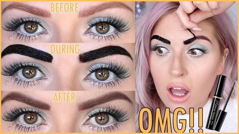 tattoo eyebrows how it s done diy eyebrow tattoos first impression does it work
