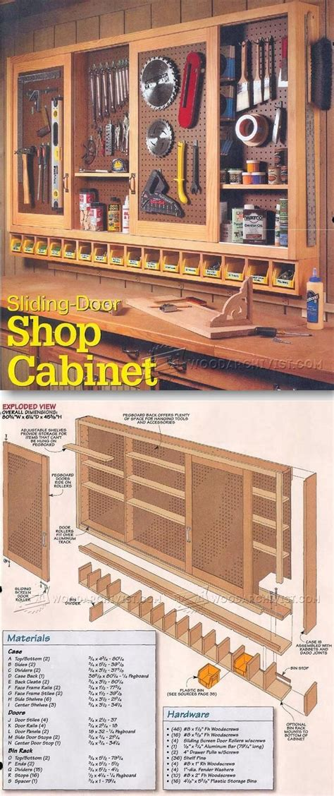 pegboard ideas for tools pegboard diy kitchen garage shop pegboard cabinet plans workshop solutions plans