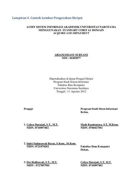 mk pedoman skripsi fasilkomunnarokt